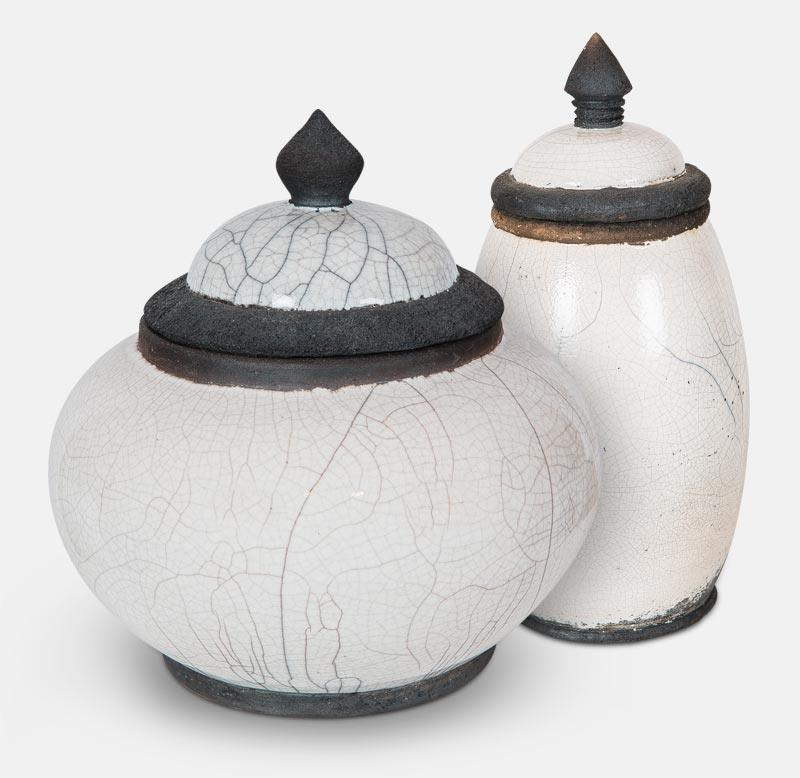 boite raku - poterie matthieu mary